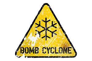 Bomb Cyclone - *National Guard Activated*Trucks-Planes-Trains Overturned*Entire Towns Evacuated*1000's Stranded** Bomb-cyclone-sign