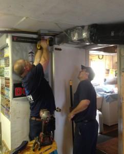 installers working